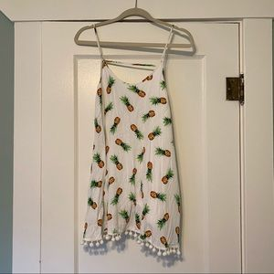 Bevello buddy basics pineapple dress EUC